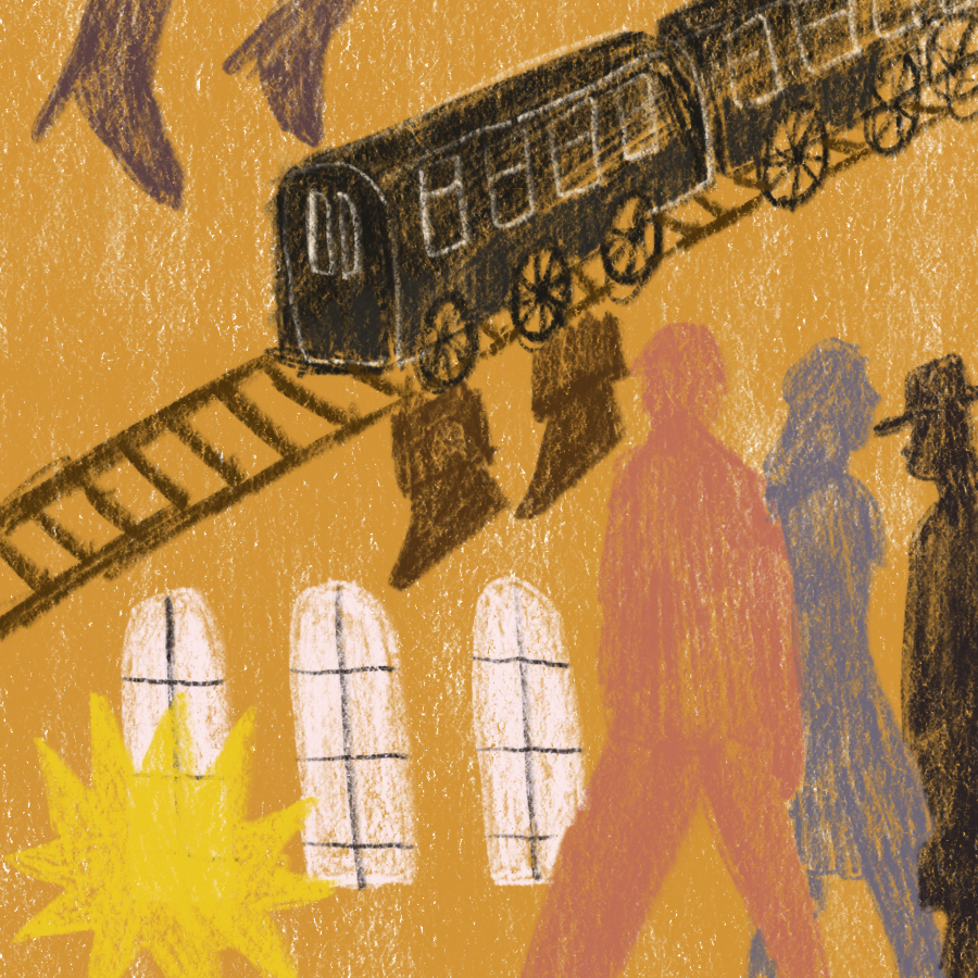 Overture to a Dance of Locomotives book cover