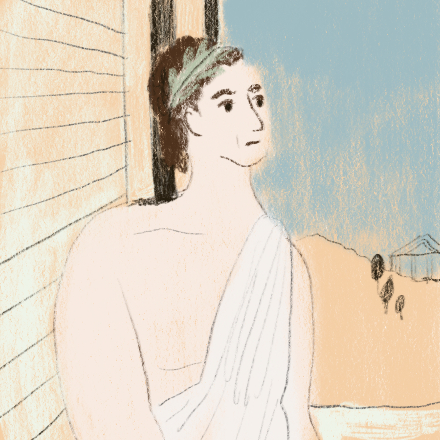illustrated depiction of Timon of Athens