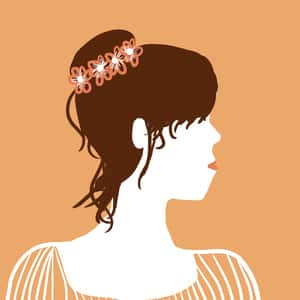 illustrated profile of main character Emma