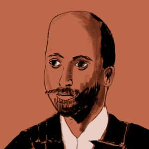 Illustration of W. E. B. Du Bois
