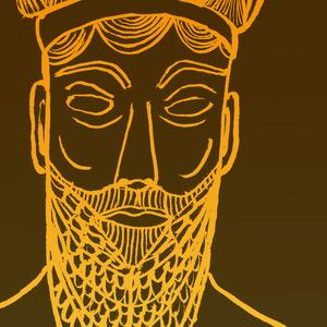 Illustration of Gilgamesh's face